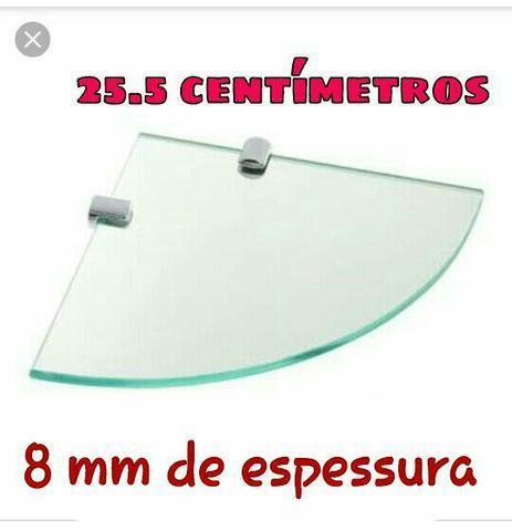 Prateleiras de vidro 8mm blindex