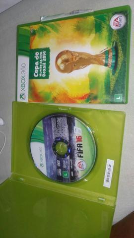 Xbox 360 Fifa 16 e copa do Mundo 2014
