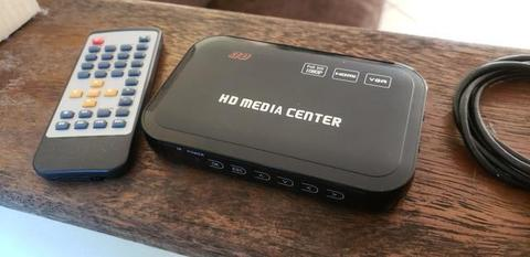 HD Media Player Full HD 1080p Hdmi Mkv Rmvb Divx H.264