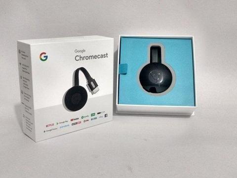 Google Chromecast 2 Original Ediçao 2018 Hdmi 1080p Novo!