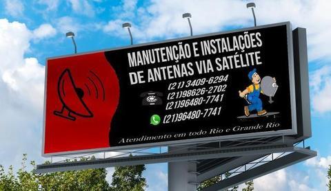 Instalador de antenas(Todo Rio e Grande Rio)