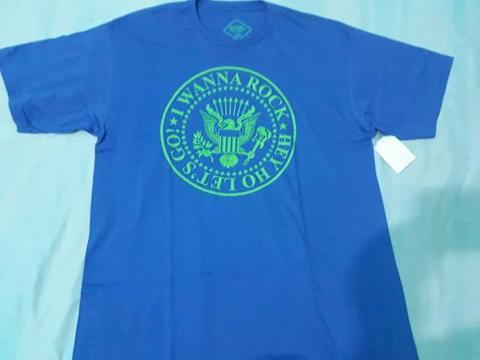 Lote Camisetas GG Novas Basic B+: I Wanna Rock e Cocar Índio Caveira