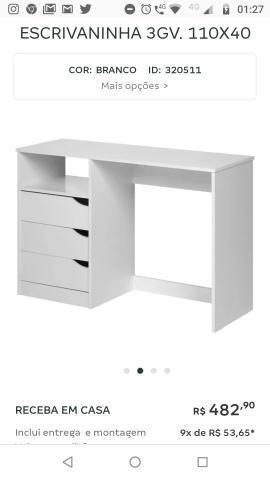 Mesa escrivaninha tok stok
