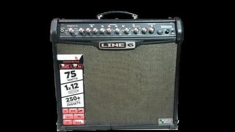 Amplificador Spider IV da Line 6 75w + foot FBV2