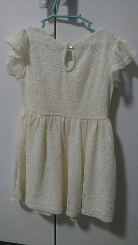 Vestido De Renda Infantil