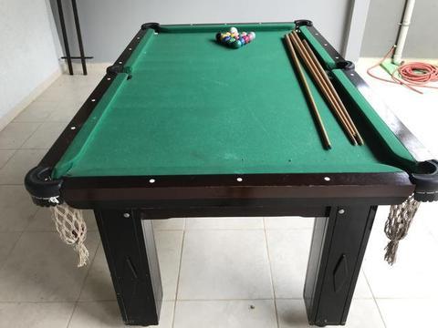 mesa de sinuca preço usada