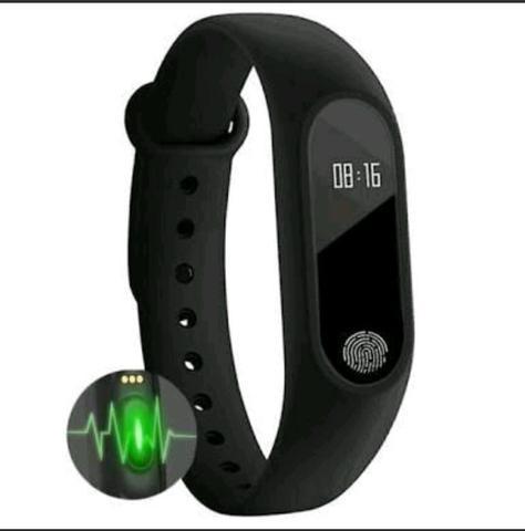 Bracelete M2 - Freqüência Cardíaca e Relógio Inteligente! Promoção!