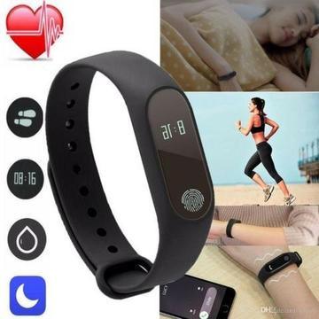 Relógio Digital Smart Band M2 Bracelete Resistente Água - Frete Gratis toda