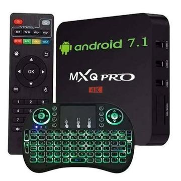 Tv box Pro 7.1 Configuracao mini teclado* Entregamos, Dividimos