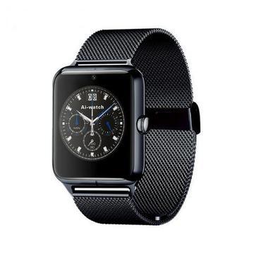 Relógio Z60 Smart De Aço Inoxidável Modelo Sim E App, Câmera