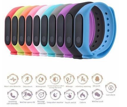 Bracelete inteligente Mini Band 2 - Relógio Fitness . Sono Inteligente