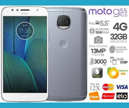 Moto G5s Plus 32GB Octa Core, 3GB Ram, Tela 5.5
