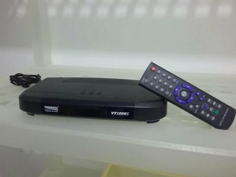 Receptor para antena parabólica Visiontec VT1000S