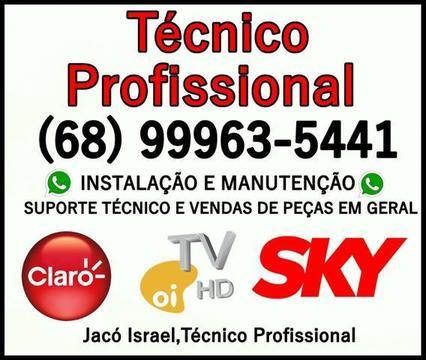 Técnico Profissional de Antenas