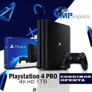 Playstation 4 PRO Novo!! Melhor e mais completa Loja do ES!! 4k hd 1TB ! opção 12x !