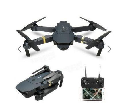 Drone Eachine E58 Câmera Wifi Hd 720p, 3 Baterias, NOVO