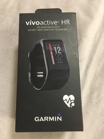 Relogio Garmin Vivoactive HR seminovo