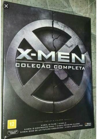 BOX com os 6 Filmes do X-MEN em Blu-ray