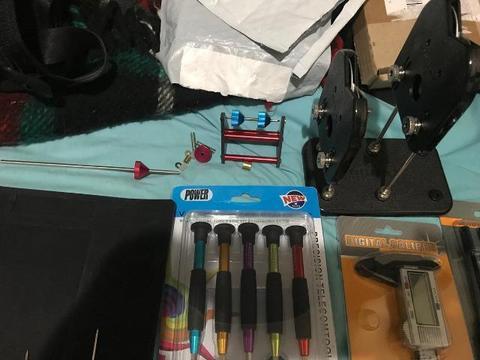 Kit de ferramentas e peças para drones aeromodelos automodelos etc