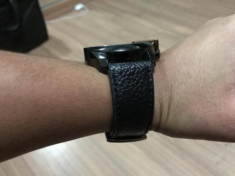 Relogio masculino diesel 10bar pulseira de couro oferta