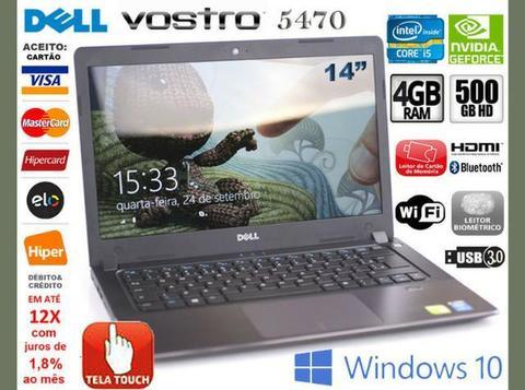 Notebook Dell Vostro Core i5, 4GB, HD 500GB, Tela 14