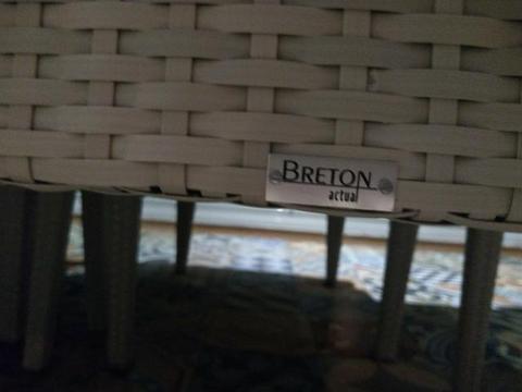 Mesa breton 8 lugares