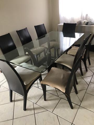 Mesa Jantar 8 cadeiras e Buffet