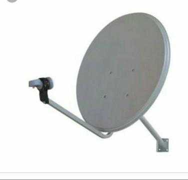Manutençao, instalação. antenas UHF, KU