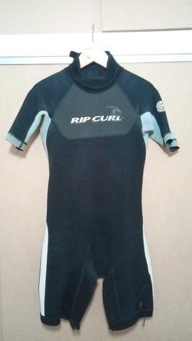 Roupa surf neoprene borracha short long John RipCurl / Seland