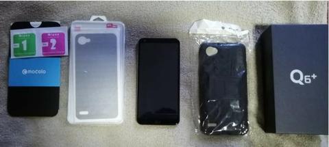 LG Q6 Plus 4g 64gb - Rosé Gold Estado De Novo + Brindes
