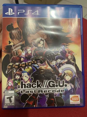 Jogo Hack G.U. Last Recode Ps4