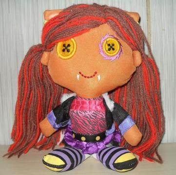 Boneca Monster high -Original Pelucia /Espuma Mattel