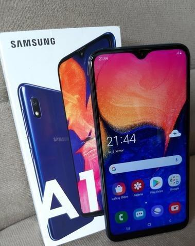 Galaxy A10 32gb cinza