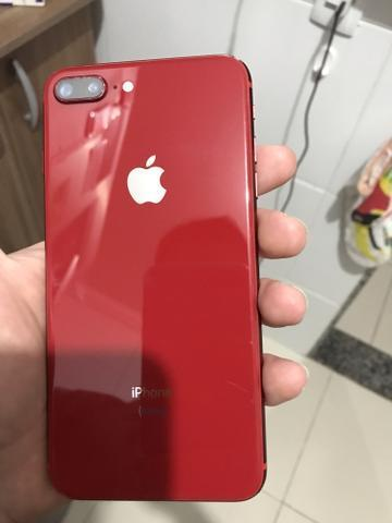 IPhone 8 Plus Red 64gb original desbloqueado! Ac Cartao