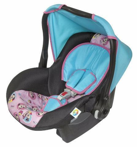 Bebê Conforto Cadeirinha Para Carro Até 13kg Rosa Tutti Baby