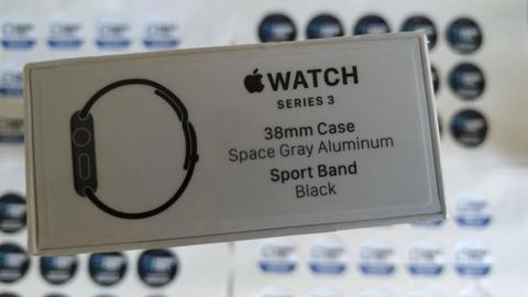 Apple watch S3 38mm GPS lacrado 1 ano de garantia Apple