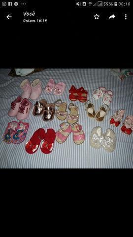 Vendo esses sapatinhos , número de 14 a 19 ! *