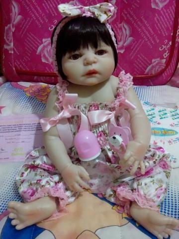 Linda boneca reborne nova e barata