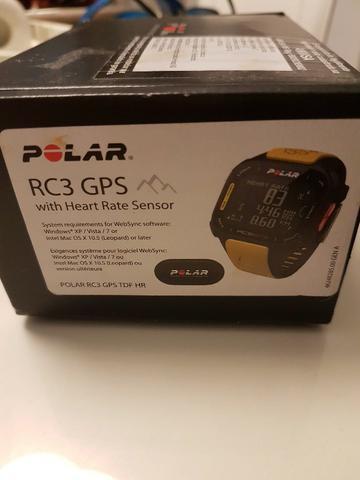 Relógio Polar RC3 GPS Tour de France