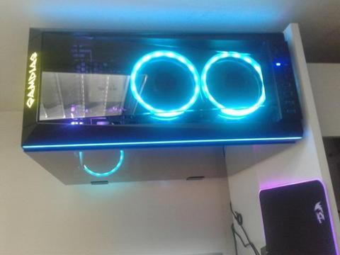 Gabinete Gamdias Talos M1 RGB, Vidro Temperador + Kit 3 Coolers Pichau