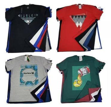 Kit 5 camisetas masculinas Estampadas